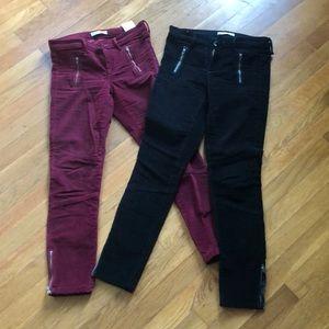 Banana Republic corduroy pants (set of 2)
